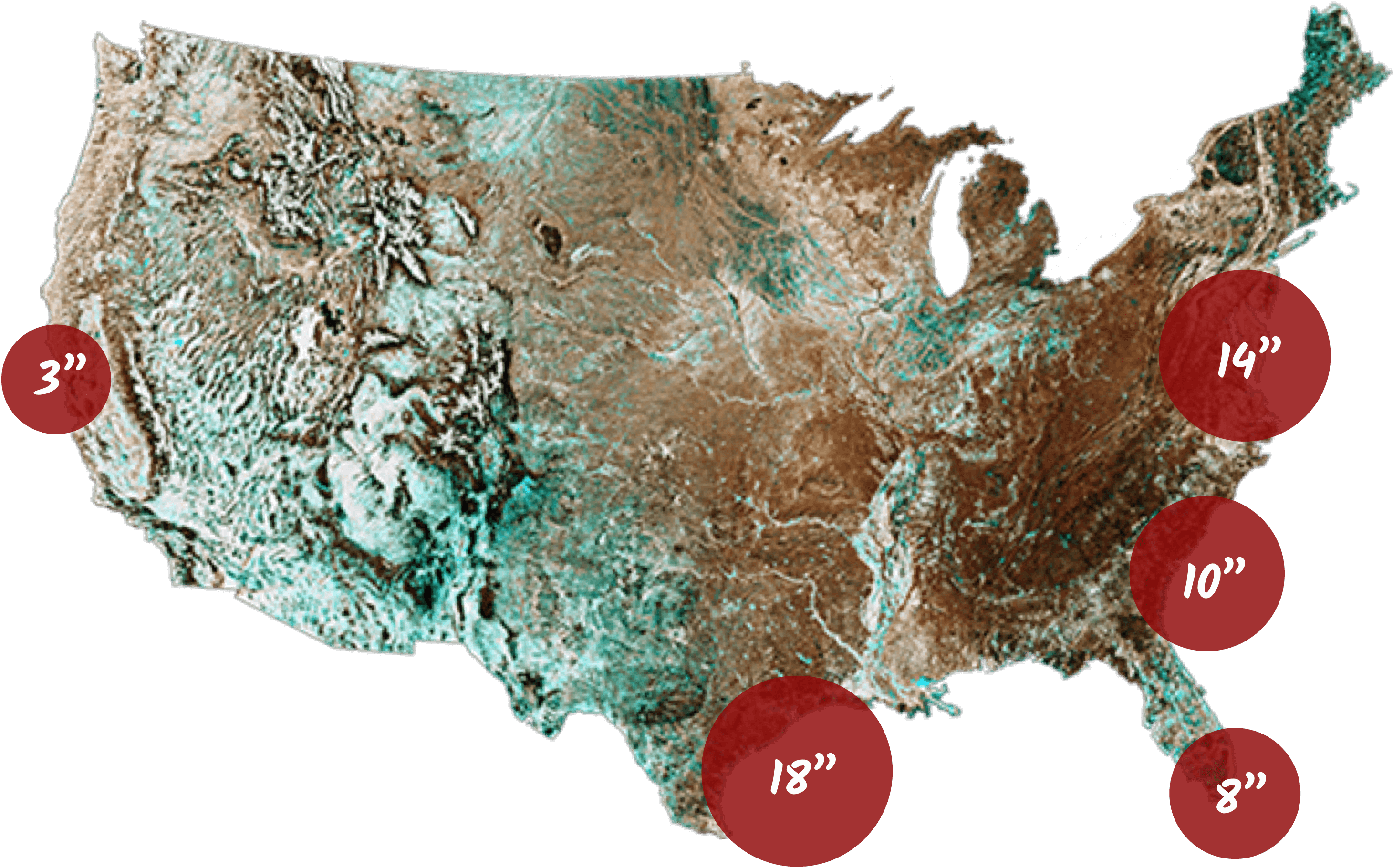 Sea Level Rise National Map